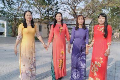 Hưởng ứng tuần lễ áo dài Việt Nam